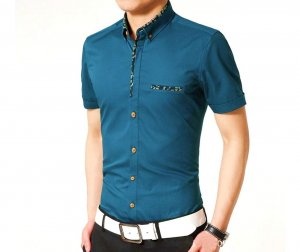 Jentasa Casual Half Sleeve Shirt