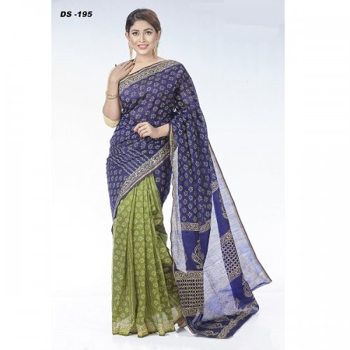 Half Silk saree DS-195