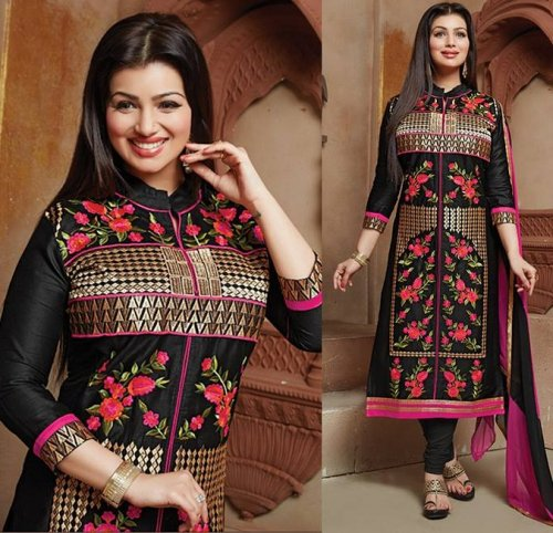 Embroidered salwar kameez S-383