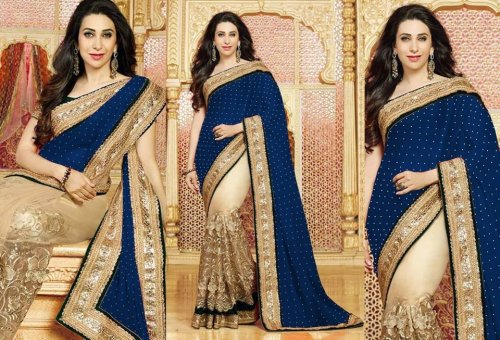Weight Less Georgette saree SS-587