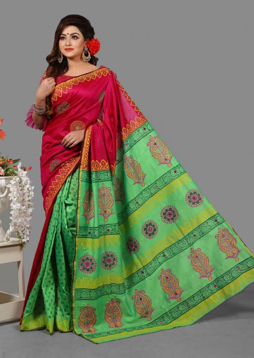 Silk Special Butics Saree for Woman bois-307
