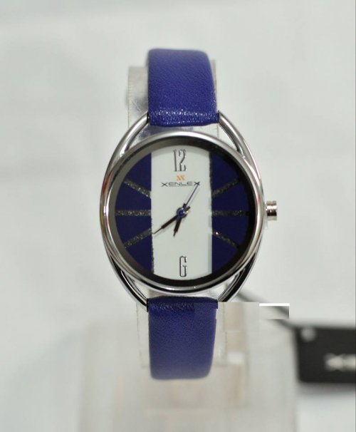 xenlex ladies watch blue