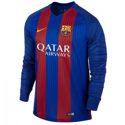 Barcelona Full Sleeves Home Jersey 2016-17