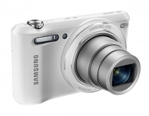 "Samsung WB35F 16.2MP Smart WiFi & NFC Digital Camera with 12x Optical Zoom and 2.7"" LCD (White)"