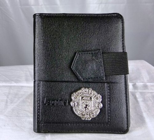 Manchester United wallet and card holder black