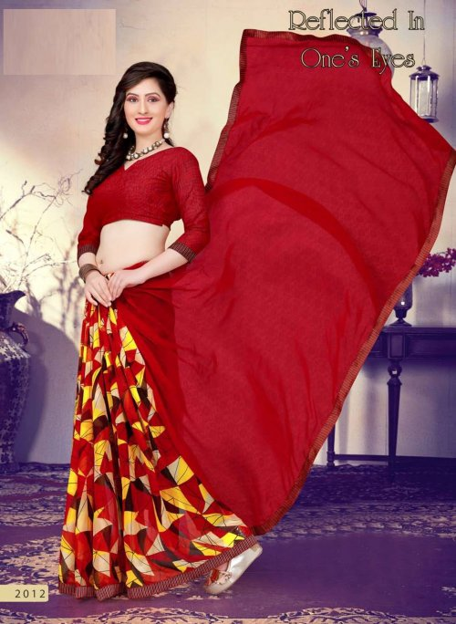 Indian Soft chiffon Saree se-507