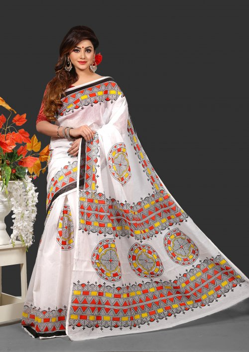 Silk Butics Saree for Woman bois-310