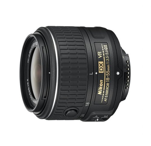 Nikon AF-S DX NIKKOR 18-55mm f/3.5-5.6G Vibration Reduction II Zoom Lens with Auto Focus for Nikon D