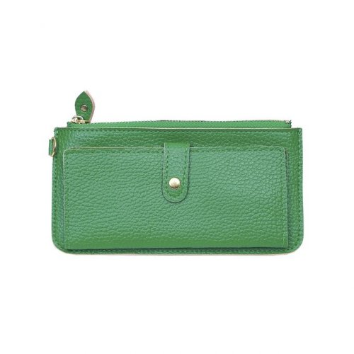 Deep Green PU Leather Purse For Women