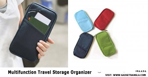 MULTIFUNCTION FASHIONABLE TRAVEL STORAGE ORGANIZER