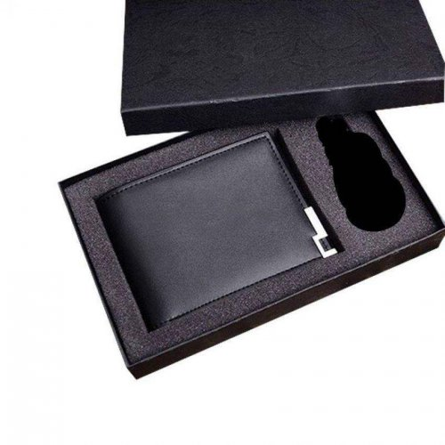 Bostanter Leather Black Wallet for Men