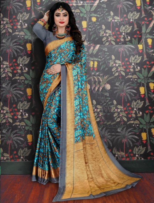 Soft Silk saree se-702