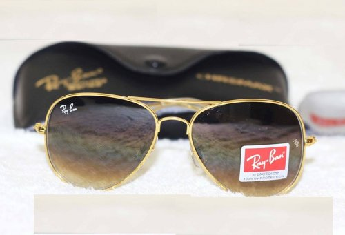 673bd8149c Ray Ban Gents Shades Golden Sunglass Replica SW4052
