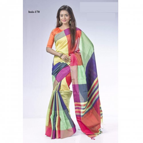 Tossor silk saree bois-170