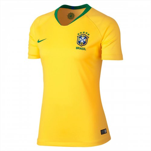 world cup 2018 brazil half sleeve jersey