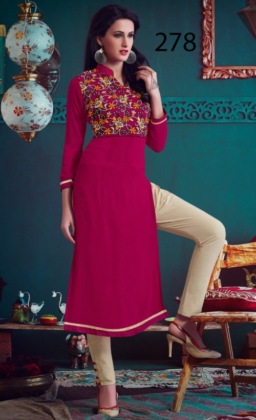 Latest Designers Kurti party wear ladies salwar suits 278