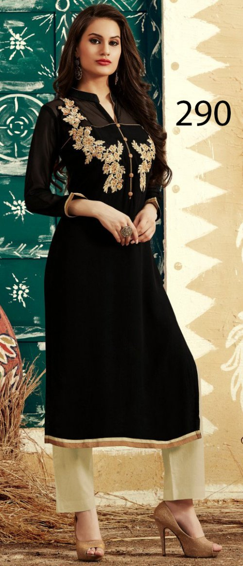 Latest Designers Kurti party wear ladies salwar suits 285