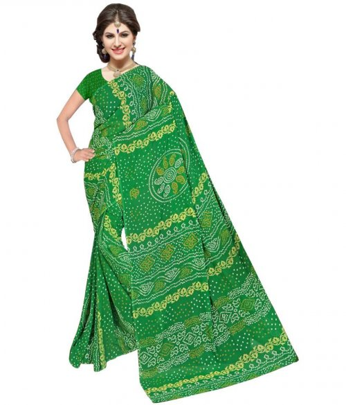 Chundi silk saree