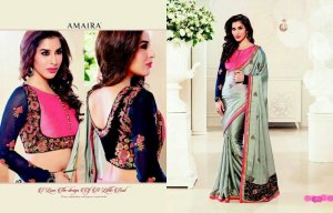 Designer Fancy Saree Code Number:Amaria-30