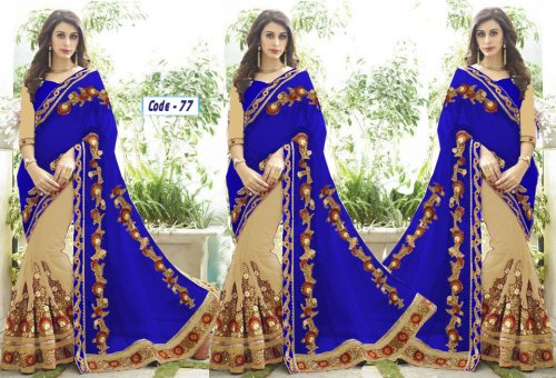 Weight Less Georgette saree Hp-77