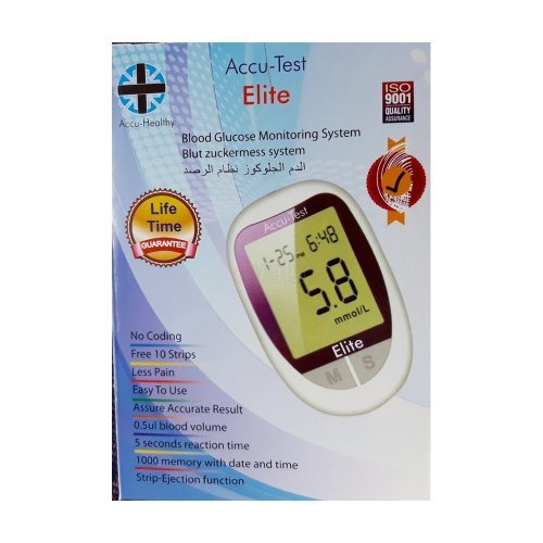 Accu Test Elite- Blood Glucose Monitoring