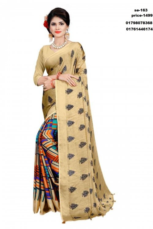 Indian silk saree se-163