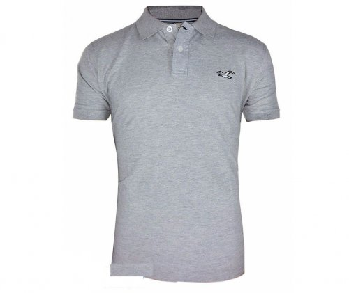 ash color polo shirt 2