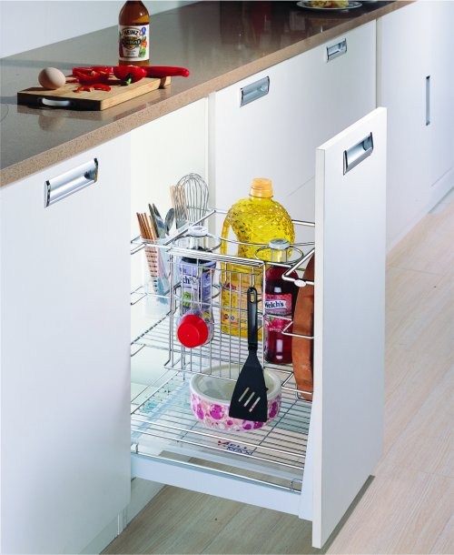 WellMax Multifunction Drawer Basket