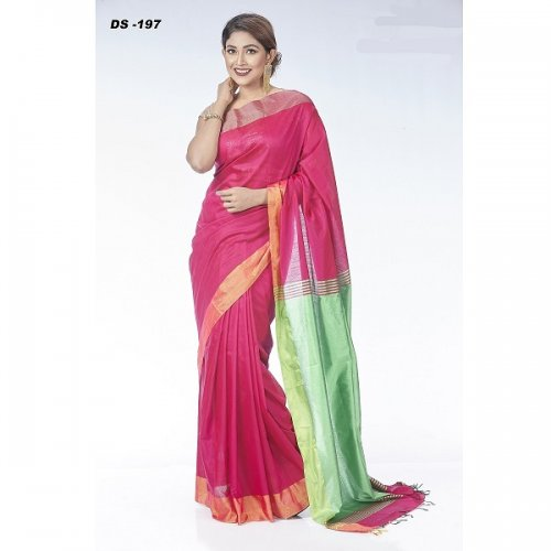 Half Silk saree DS-197