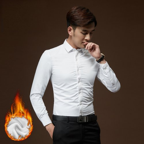 2020 NEW STYLE Cotton Long Sleeve Formal Shirt for Men