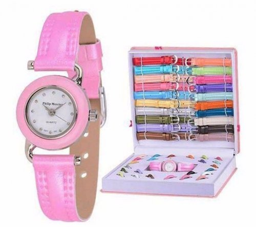 16 IN 1 changeable dial woman watch