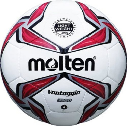 Molten Football White and Red