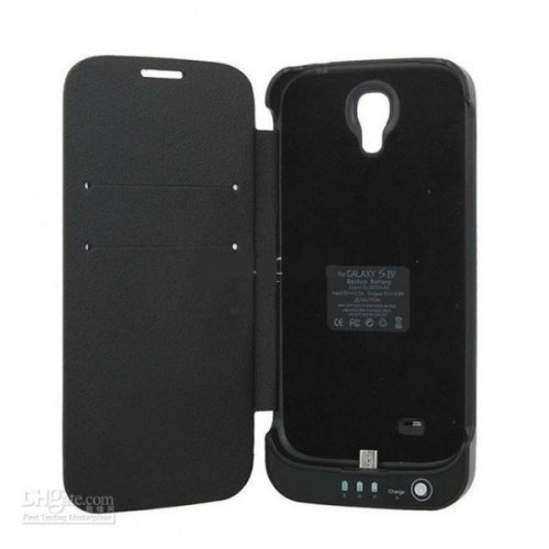 Galaxy S4 Power Bank with Flip Cover-3200mAh