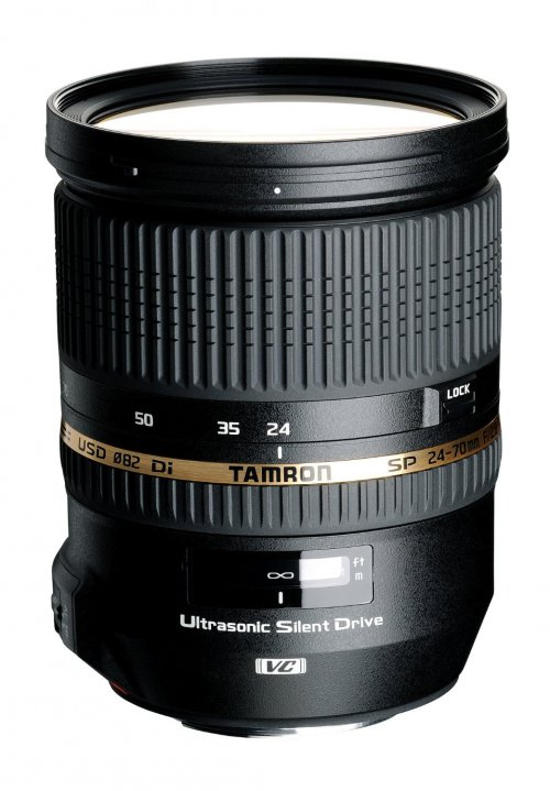 Tamron 24-70mm f/2.8 with VC