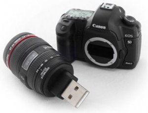 USB gadgets: Canon 5D Mark II flash drive