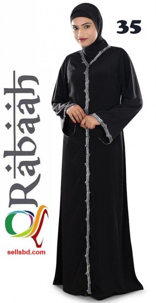 Fashionable muslim dress islamic clothing Rabaah Abaya Burka borka 35