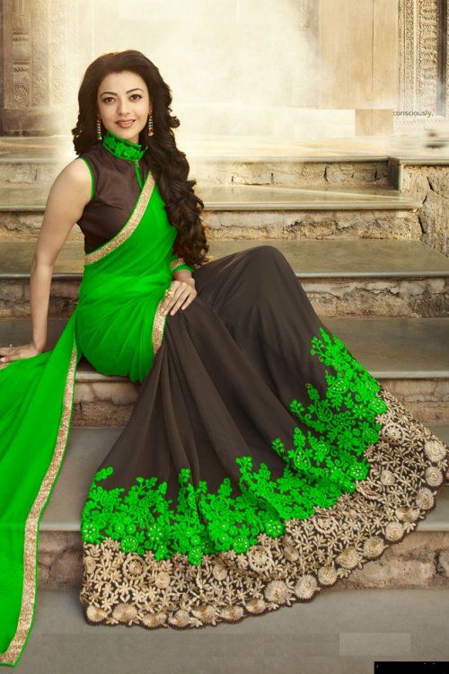 Weight Less Georgette saree Hp-93