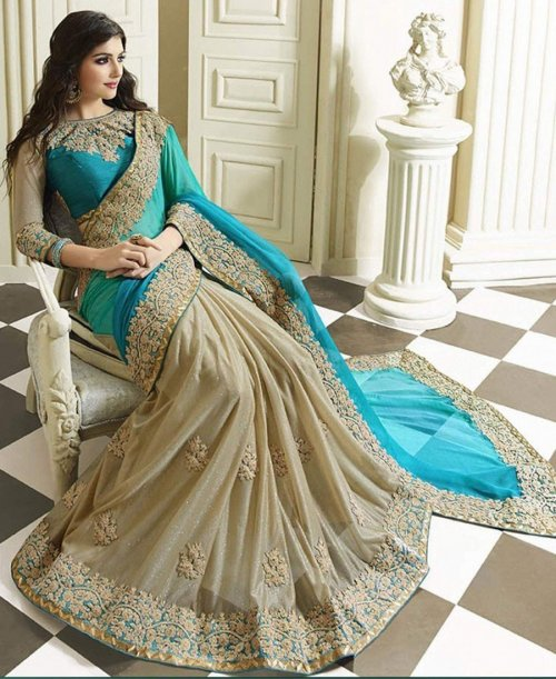 Weight Less Georgette saree SS-395