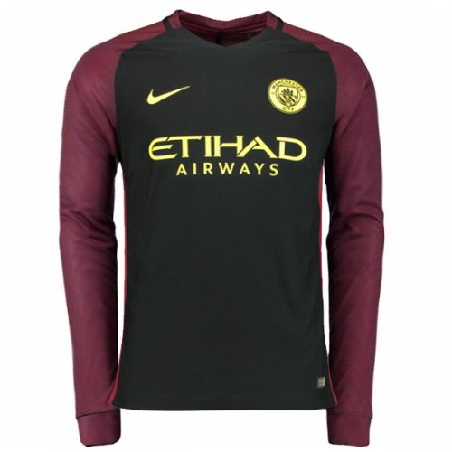 Manchester City Away Jersey 16-17 full sleeve