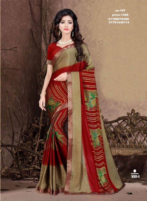 Indian Soft Georgette Saree se-167