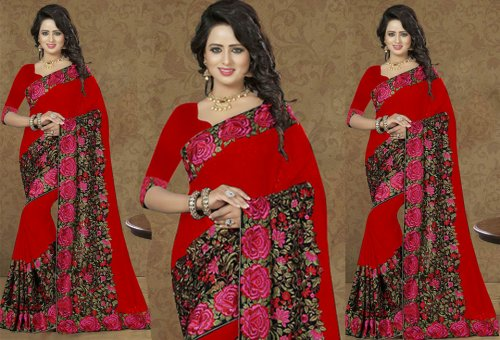 Weight Less Georgette saree Hp-112