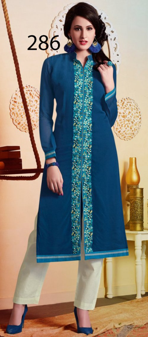 Latest Designers Kurti party wear ladies salwar suits 283