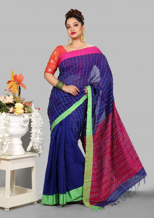 Cotton Variant Saree for Woman bois-302
