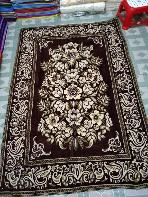 Indian velbet cotton Floor mat
