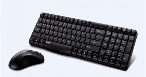 Rapoo N1820 Wired Keyboard Mouse Set