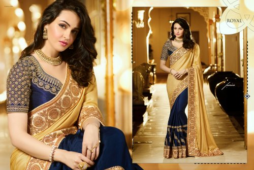 Weight Less Georgette saree Hp-103_D