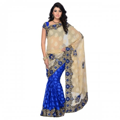 Weight Less Georgette saree SS-647