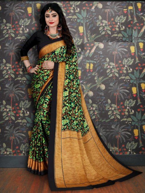 Soft Silk saree se-707
