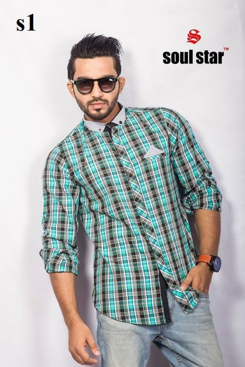 Soul Star Branded Eid Shirt 2016-1