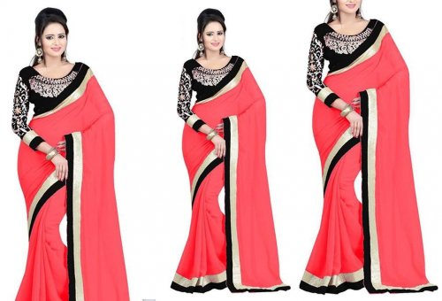 Weight Less Georgette saree SS-232